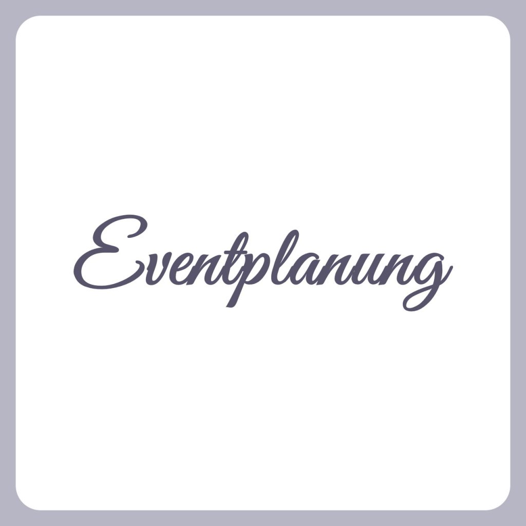 eventplanung